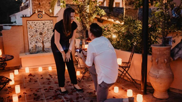 A WEDDING PROPOSAL TO REMEMBER…